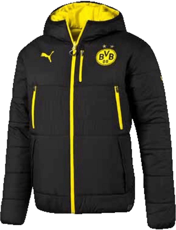 Puma BVB Borussia Dortmund Wendejacke puma blac...