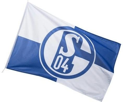 Trade Con FC Schalke 04 Fahne blau/weiß 150 x 2...