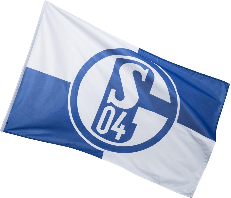 Trade Con FC Schalke 04 Fahne blau/weiß