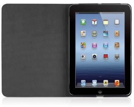 Image of Macally Rotatable Shell-Stand Case for iPad mini black (SSTANDB-M1)