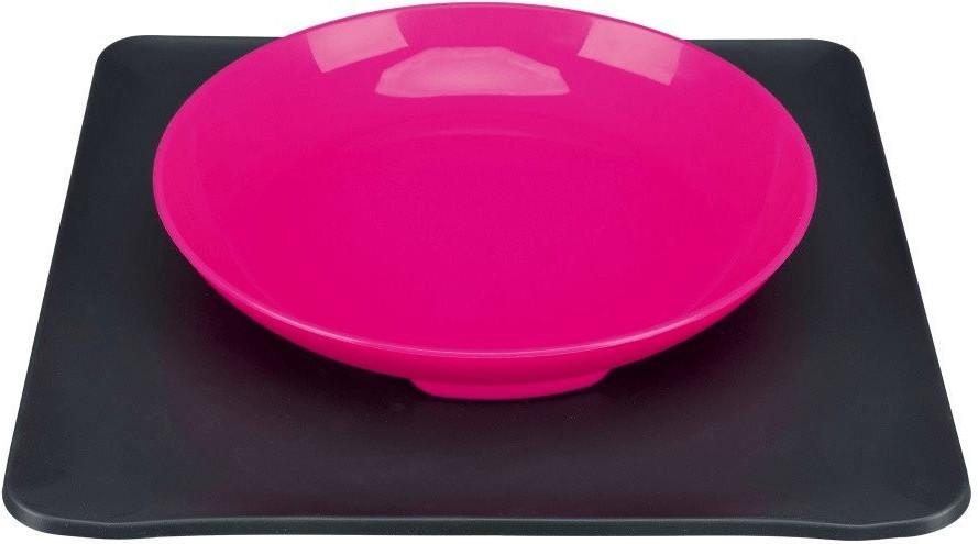 Trixie Yummynator Napfsystem 400 ml pink grau