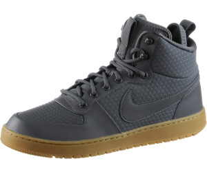 nike court borough mid grey