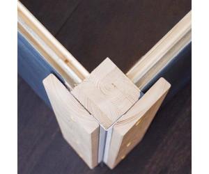 karibu tecklenburg 2 t r modern 369 x 369 cm natur ab 3. Black Bedroom Furniture Sets. Home Design Ideas