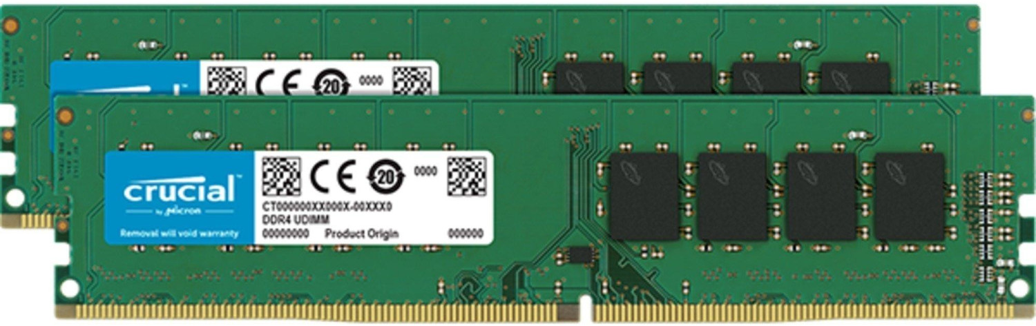Image of Crucial 16GB DDR4-2666 CL19 (CT2K8G4DFS8266)