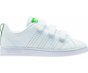 Adidas NEO VS Advantage Clean CMF K ftwr white/ftwr white/green au meilleur  prix sur idealo.fr