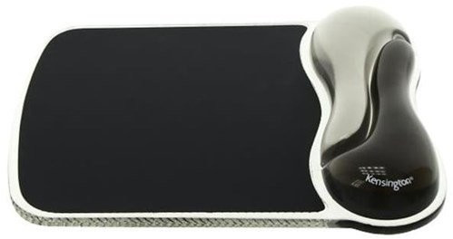 *Kensington Maus Duo Gel Wrist Rest grau*