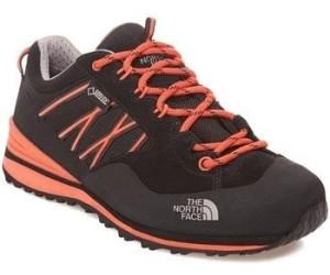 The North Face Verto Plasma II GTX Shoes Women TNF Black/Radiant Orange 38,5 2017 Trekking- & Wanderschuhe