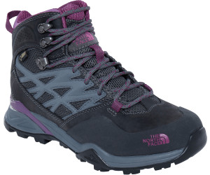 The North Face Damen Hedgehog Hike Mid Gore-Tex Trekking-& Wanderschuhe, Grau (Dark Shadow Grey/Wood Violet), 36.5 EU