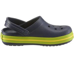 9d9d3f6830b3 Buy Crocs Kids Crocband navy volt green from £15.72 – Best Deals on ...
