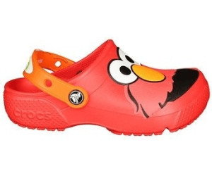 Crocs Enfant Fun Lab Elmo Sesame Street Roomy Fit Clog Chaussures en Rouge Flame 204782 8C1 [Child 11] pQeF7TN3rQ