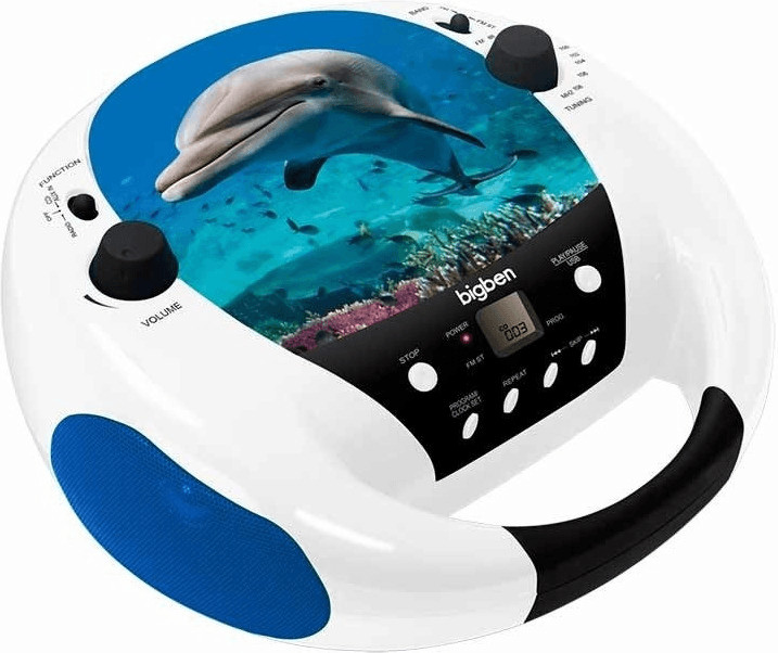 Image of Bigben CD52USB Dolphin