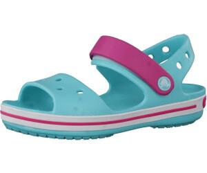 a5afea921b3126 Crocs Crocband Sandal Kids pool candy pink ab 15
