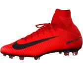 detailed look 3fda0 d9d6d Nike Mercurial Veloce III DF FG university redbright crimsonblack