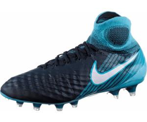 "844595 414 NIKE MAGISTA OBRA II FG /""GLACIER BLUE/"" FOOTBALL BOOTS UK 7.5-8.5"