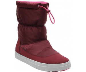 Crocs LodgePoint Shiny Pull-On W Garnet/Candy Pink, Schuhe, Stiefel & Boots, Hohe Boots, Lila, Female, 36
