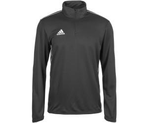 Adidas Core 18 Hoodie dark grey heather schwarz