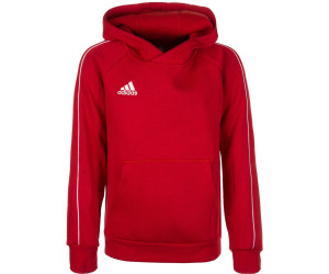 sale online reputable site running shoes Adidas Kinder Hoody Core 18 (CV3431) power red/white ab 19 ...