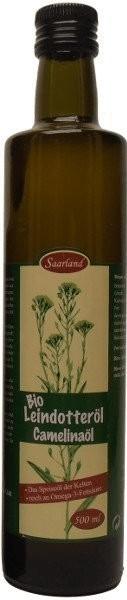 Bliesgau Ölmühle Saarländisches Leindotteröl Bio (500ml)