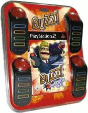 Buzz! - Das große Quiz + Buzzer (PS2)