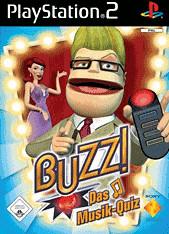 Buzz! - Das Musik-Quiz + Buzzer (PS2)