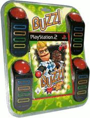 Buzz! - Das Sportquiz + Buzzer (PS2)