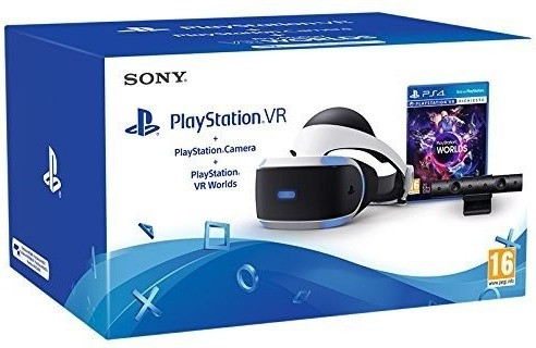 Image of Sony PlayStation VR + PlayStation Camera + PlayStation VR Worlds