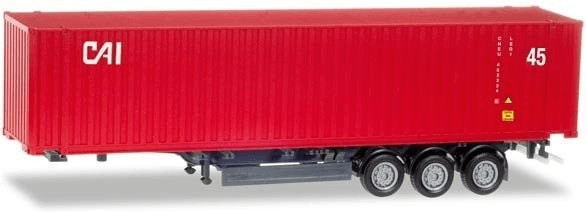 Herpa 45 ft. Container-Auflieger CAI (76791)