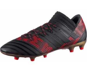 Buy Adidas Nemeziz 17.3 FG core black core black solar red from ... 76303e9a91
