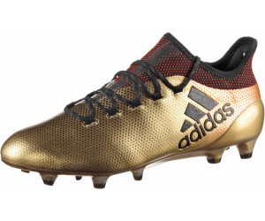 2f6d17949597 Buy Adidas X 17.1 FG tactile gold metallic core black solar red from ...