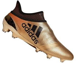 adidas X 17+ Purespeed FG Gold Schwarz