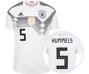 Adidas Deutschland Home Trikot Kinder 2018 + Hummels Nr. 5