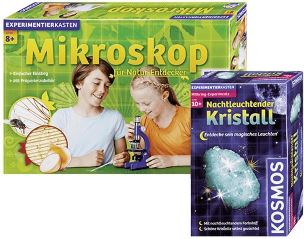 Kosmos Mikroskop (Natur-Entdecker + Kristall Set)