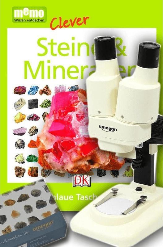 Omegon Stereomikroskop StereoView (Mineralien Set)