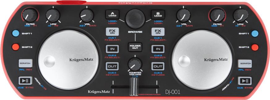 Image of Krüger & Matz DJ-001 Controller