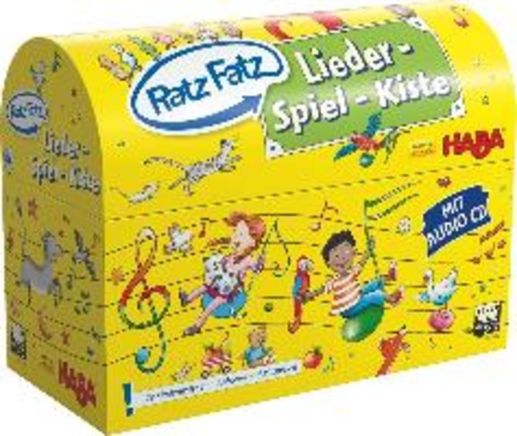 Ratz Fatz Lieder-Spiel-Kiste (3035)