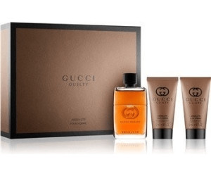f857fd575 Buy Gucci Guilty Absolute pour Homme Set (EdP 50 ml + SG 50ml +ASB ...