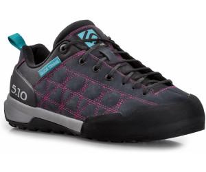 Five Ten Guide Tennie Lila/Violett-Schwarz, Damen Hiking- & Approach-Schuh, Größe EU 36 - Farbe Charcoal-Iris %SALE 35% Damen Hiking- & Approach-Schuh, Charcoal - Iris, Größe 36 - Lila/Violett-Schwarz