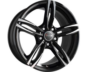 avus racing ac mb3 8x18 black polished ab 133 10 preisvergleich bei. Black Bedroom Furniture Sets. Home Design Ideas