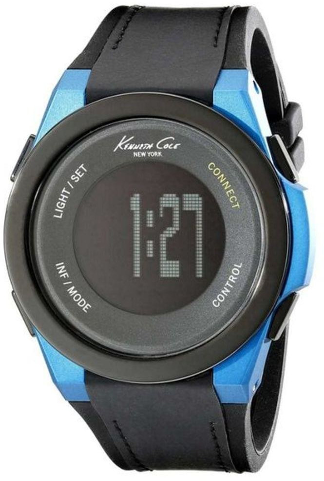 Image of Kenneth Cole Connect - Silicone blue/black