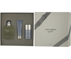 Dolce   Gabbana Light Blue pour Homme Set (EdT 200ml + SG 50ml + DS 75ml) 398963d3cdcf