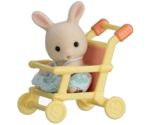 Sylvanian Families Minibox - Hase im Kinderwagen (5200)