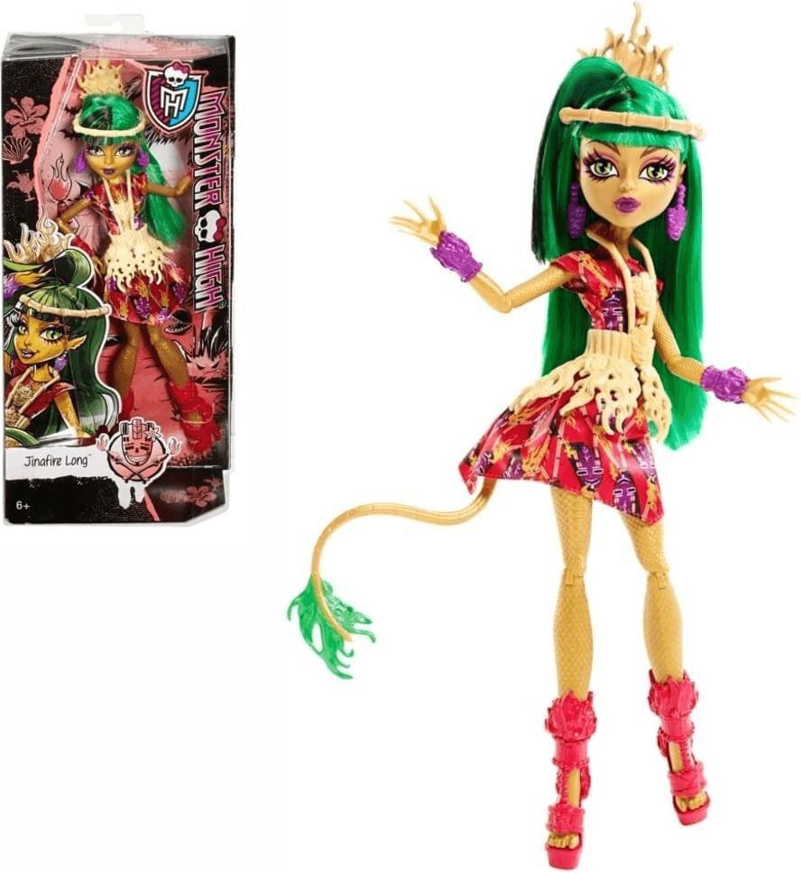 Mattel Monster High - Monster-Grauszeit Jinafir...