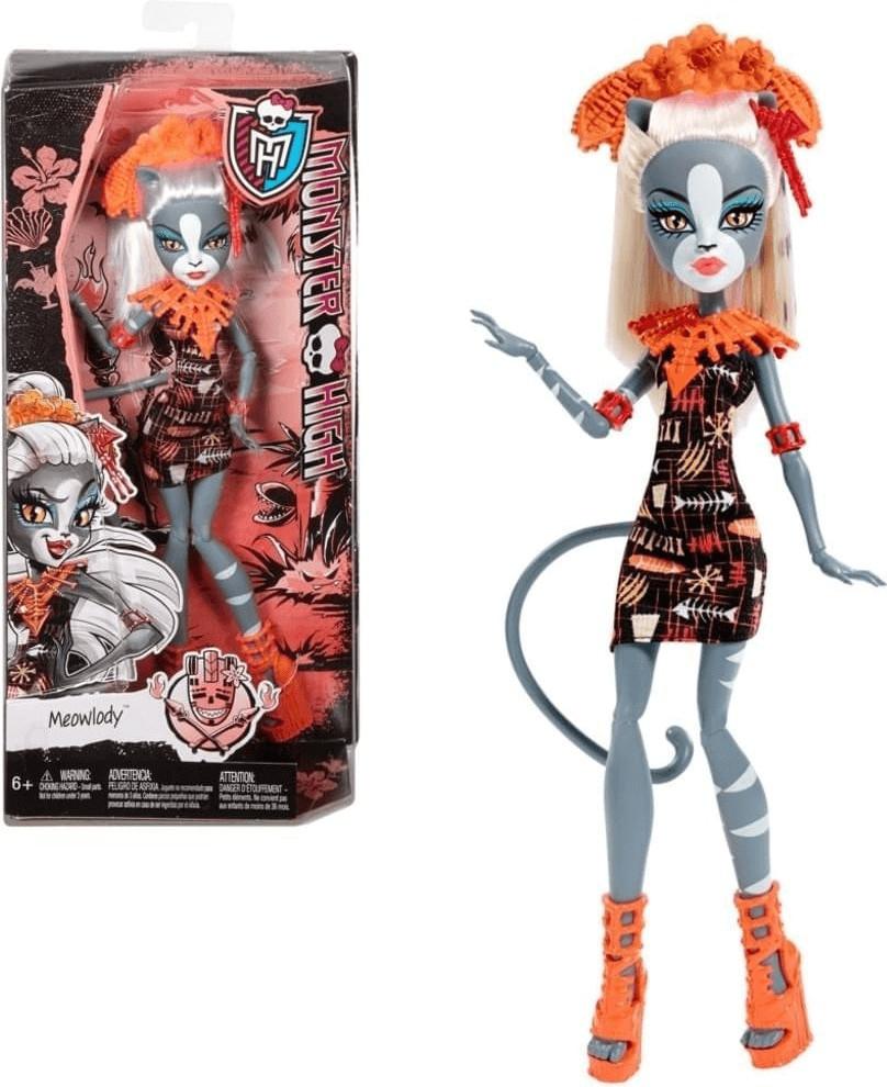 Mattel Monster High - Monster-Grauszeit Meowlod...