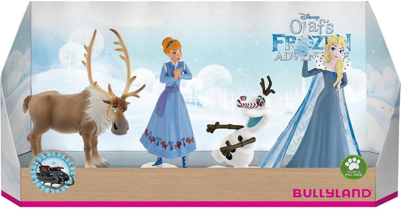 Bullyland Disney Die Eiskönigin - Olaf taut auf - Geschenk-Box 4 Stück (12936)