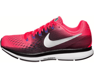 Nike Air Zoom Pegasus 34 solar red/black/persian violet/metallic ...