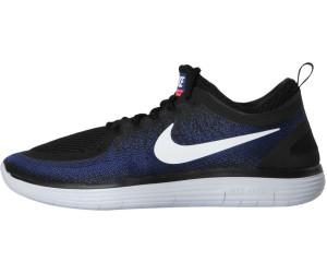 ab4e2ee1e8de5 Buy Nike Free RN Distance 2 black white deep royal blue from £67.45 ...