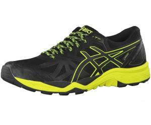 GEL FUJITRABUCO 6 G-TX - Laufschuh Trail - black/safety yellow/black 3RGyRw