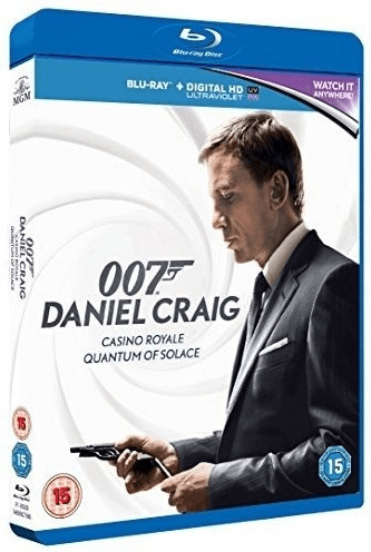 Image of The Daniel Craig Collection - Casino Royale/Quantum of Solace [Blu-ray + UV Copy] [2006]