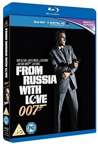 Image of From Russia With Love [Blu-ray + UV Copy] [1963]