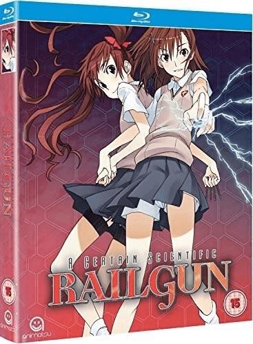 Image of A Certain Scientific Railgun Complete Season 1 Collection (Episodes 1-24) Blu-ray